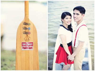 Romil & Sheryl - singapore