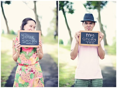 Stephen & Melody - singapore