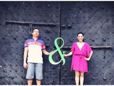 Omar & Nika - singapore