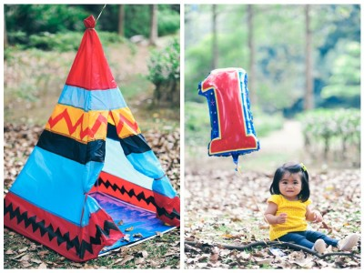 The Flores Family - Kate turned 1
