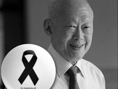 'Thank you, Mr Lee Kuan Yew! RIP.