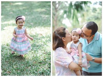 mika turned 1 - singapore